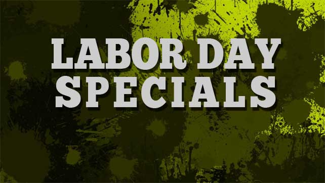 Labor Day Hours and Specials